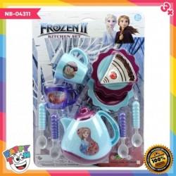 Frozen 2 Kitchen Set Toy Mainan Dapur Desert Tart NB-04311