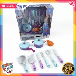Frozen 2 Kitchen Set Toy Cooking Tools NB-04314