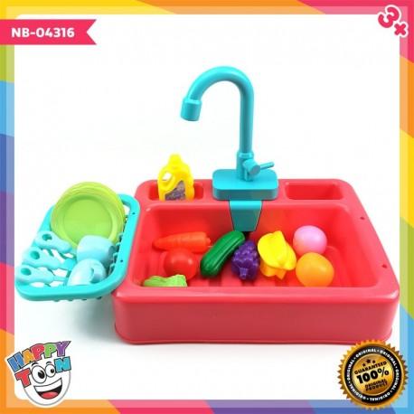 Kitchen Sink Toy Mainan Bak Cuci Piring NB-04316