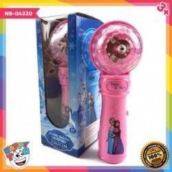 Frozen Magic Wand Spinner Music Toy NB-04320