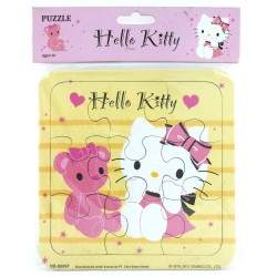 Puzzle Small Hello Kitty Lovely Bear - Mainan Puzzle Hello Kitty