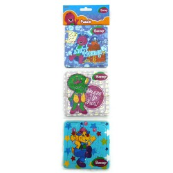 Puzzle 3 in 1 Barney Play Pretend - Mainan Puzzle Barney