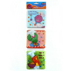 Puzzle 3 in 1 Barney Chef - Mainan Puzzle Barney