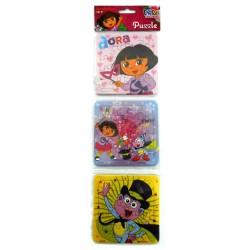 Puzzle 3 in 1 Dora Magic Show - Mainan Puzzle Dora