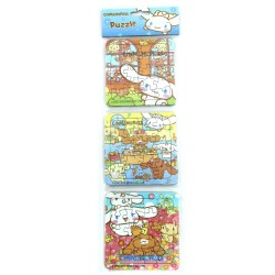Puzzle 3 in 1 Cinnamoroll - Mainan Puzzle Cinnamoroll