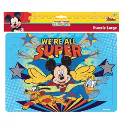 Puzzle Large Mickey Mouse We're all Super