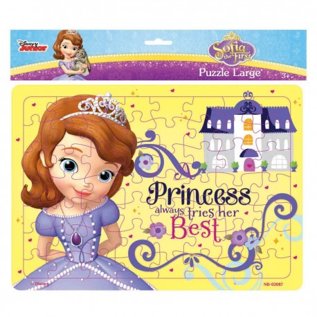 Puzzle Large Sofia Princess Always Tries Her Best