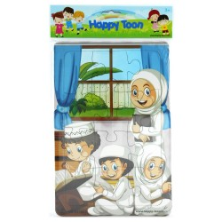 Puzzle Regular Muslim - Mainan Puzzle Ibadah Islam 1