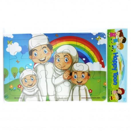 Puzzle Regular Muslim - Mainan Puzzle Ibadah Islam 2