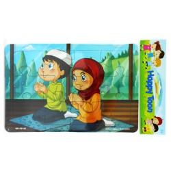 Puzzle Regular Muslim - Mainan Puzzle Ibadah Islam 3