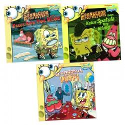 Paket Story Book SpongeBob: Kasus Tupai Yang Hilang, Kaskus Spatula Yang Hilang, SpongeBob Dan Sang Putri