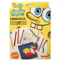 SpongeBob Coloring Puzzle