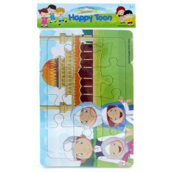 Puzzle Regular Muslim - Mainan Puzzle Ibadah Islam 5