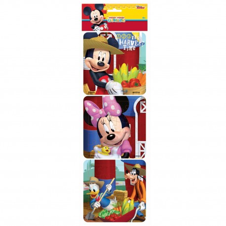 Puzzle 3 in 1 Mickey Mouse Harvest Time