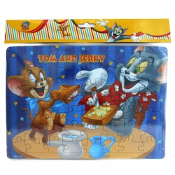 Puzzle Large Tom & Jerry Breakfast