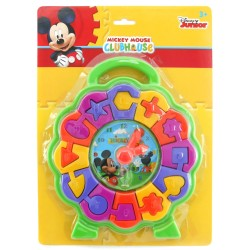 Mickey Mouse ClubHouse Learning Shape Clock