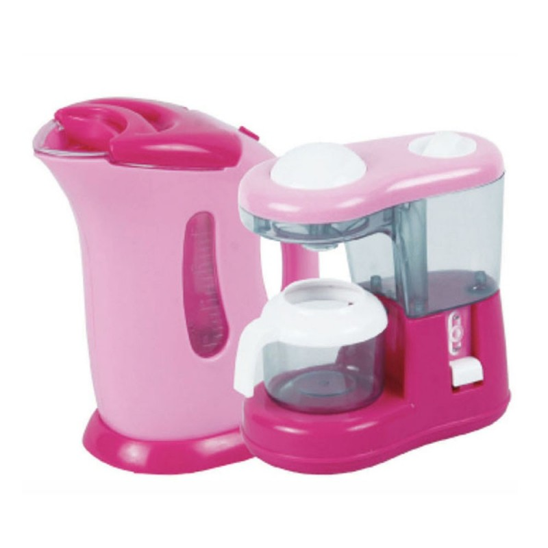 Dora kitchen set collection coffe maker happy toon for Kitchen set jual