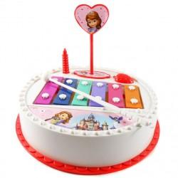 Sofia Birthday Cake Xylophone