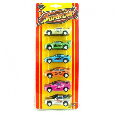 Super Car - Transcend Future - 6 pcs
