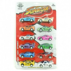 Super Car - Transcend Future - 12 pcs